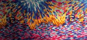 Silk fabric design for fashion designers